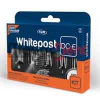 Kit Pernos WhitePost DC-E x 25 Unidades + Fresas, FGM