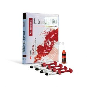 3M™ Filtek® Kit Resina Z250 4 jeringas + Adhesivo Dental Single Bond 2 de 3g. (Tono A2, A3, A3.5 y B2)