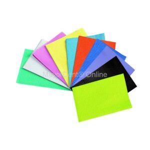 Caja servilletas con 500 unidades distintos colores, Medicom