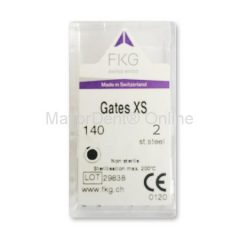 Fresas Gates N°2 en 15mm, FKG