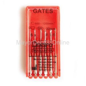 Fresas Gates N°1-6 en 28 o 32mm, Maillefer...