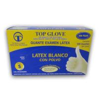 10 Cajas de guantes latex x 100uni. c/u, Top Glove