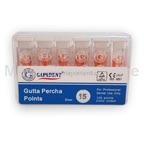#15 Conos Gutta Percha, GAPADENT