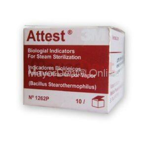 Indicador biologico Attest 1262P, caja x 10 unds, ...
