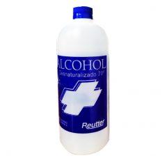Alcohol Desnaturalizado 70° 1 litro, Reutter
