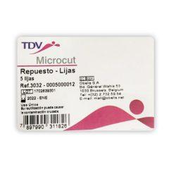 Repuesto de Lijas, Microcut por 5 unidades, TDV