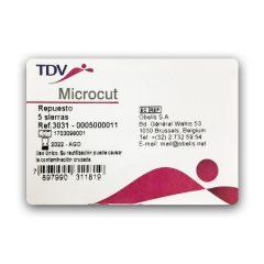 Respuesto de Sierras, Microcut por 5 Unidades, TDV