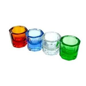 Vasos Dappen de Vidrio, Diferentes Colores, Dochem...