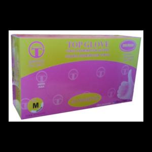 5 Cajas guantes Vinilo con polvo x 100 Uds, Top Gl...