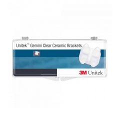 Gemini Clear Brackets MBT Cerámicos, 3M Unitek