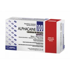 Caja Alphacaine 2%, DFL