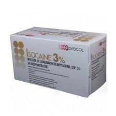 Caja Anestesia Isocaina 3% Novocol