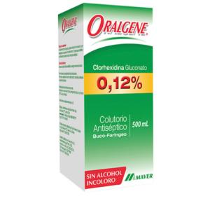 Clorhexidina Oralgene 500 ml. Laboratorio Maver