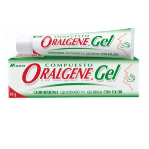 Clorhexidina Oralgene Gel, Laboratorio Maver
